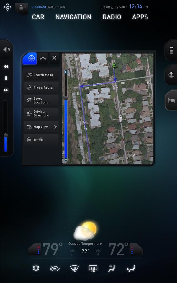 Console View (Mini Map)